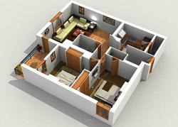 3d floor plan - 3d Floor Planning